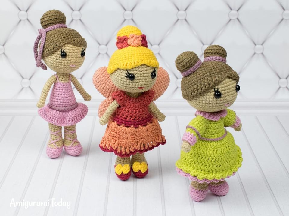 Butterfly baby rattle crochet pattern - Amigurumi Today | 720x960