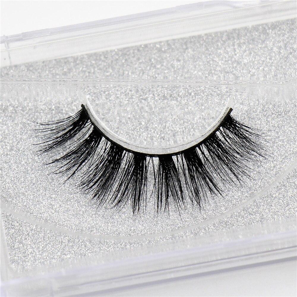 Mink Eyelashes 3D Mink Lashes Thick Volume HandMade Full Strip Lashes Cruelty Free Mink Lashes 13 Style False Eyelashes D23 цена