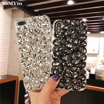 For Huawei P40 P20 P30 Pro Lite Mate 30 20 Pro Lite Glitter Diamond Crystal Rhinestone Phone Case Soft Bling Back Cover