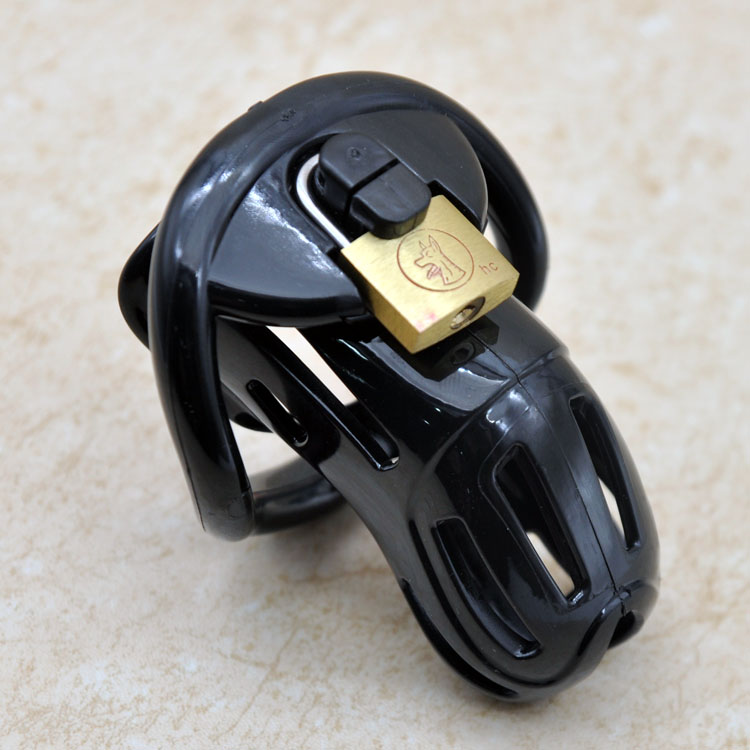 2018 New Design Male Chastity Device Adult Chastity Belt Penis Lock Chastity Cage With 4 Cock Rings Sex Toys For Men 2015 new birdlocked mini silicone cb6000s male chastity cb device chastity belt men chastity device lock rings sex toys