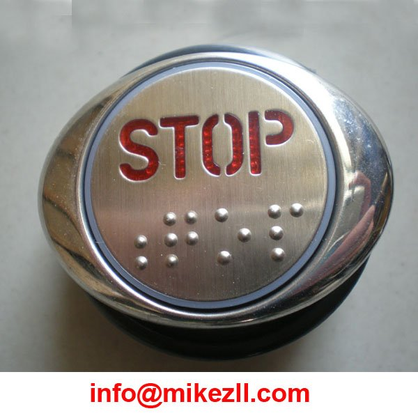 Romantic Push Button/elevator Push Button Elevator Parts Customized Symbols And Various Tpyes With Led Electronic Accessories & Supplies