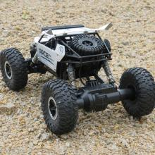 9118 1/18 2.4G 4WD Aluminum ABS Wing Damping RC Climbing Car  High Speed Clamber Vehicle Toy
