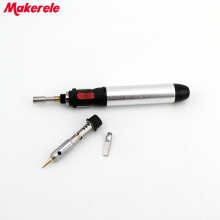 High quality Portable Heat Gun Flame Butane Gas Soldering Iron Pen Torch Welding Tool soldering gun