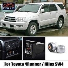 מיוחד עבור טויוטה 4 ראנר Hilux SW4/אלחוטי צמיג לחץ ניטור מערכת של חיצוני חיישני DIY מוטבע התקנה