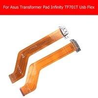 วันที่ซิงค์ชาร์จพอร์ตF Lexสายเคเบิ้ลสำหรับAsus T Ransformer Pad Infinity TF701T TF701 TF701k-DOCKING-FPC USB Connectorชาร์จF Lex
