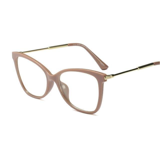 abb8f6e6bf28cd 97543 a Europa e os Estados Unidos armação dos óculos retro feminino rosto  redondo espelho pode