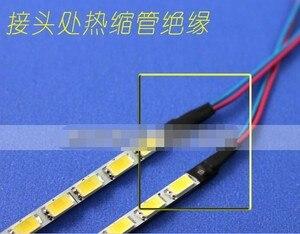 Image 2 - Nowy!! 10 sztuk uniwersalny zestaw aktualizacji podświetlenia LED do monitora LCD 2 listwy LED wsparcie do 24 540mm darmowa wysyłka