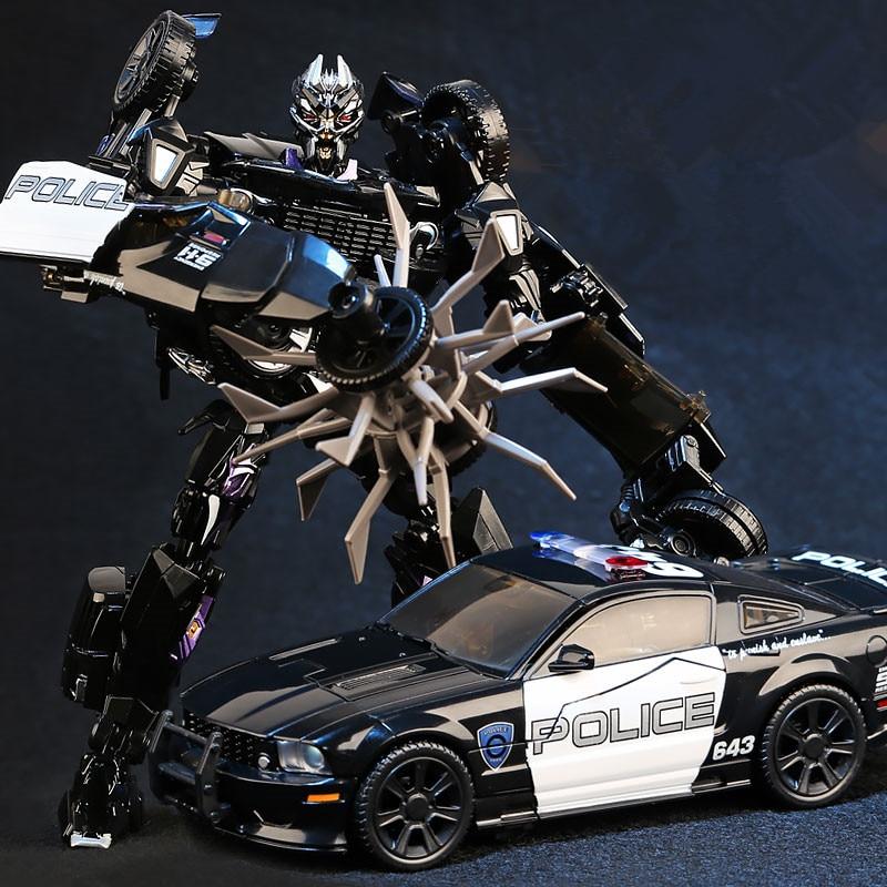 HEIMANBA Movie 5 Transformation Toy MPM05 Deformation Car Mode KO Oversize Alloy + ABS Action Figure Robot Car Collection Toys-in Action & Toy Figures from Toys & Hobbies    1