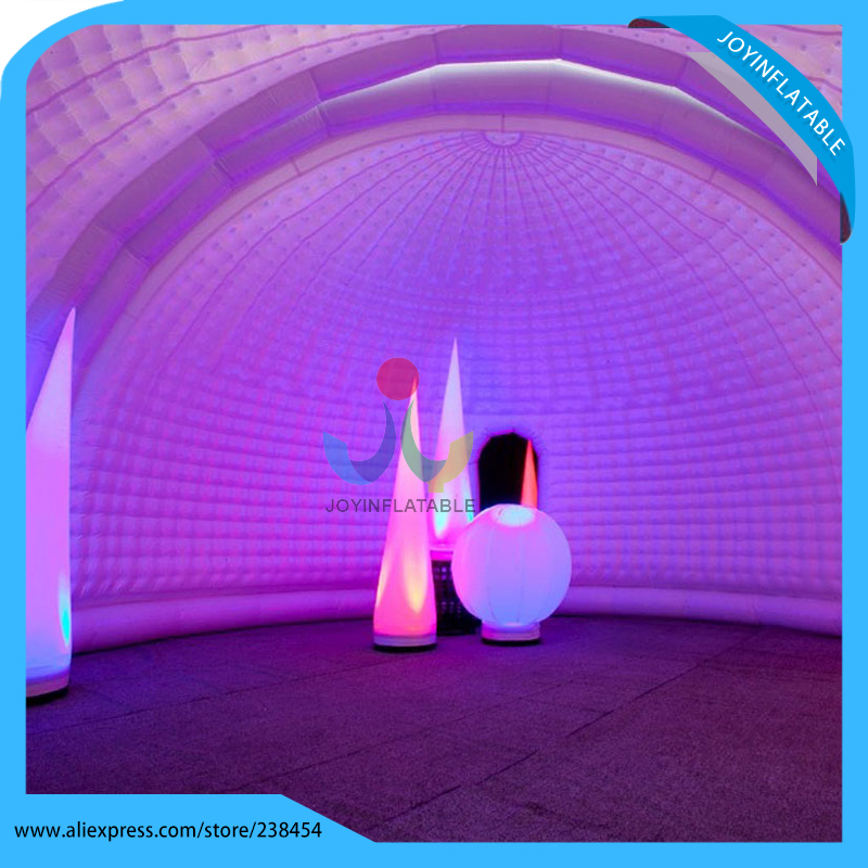 Inflatable white dome tent 10 meters white large inflatable igloo dome tent with tunnel made of best PVC tarpaulin-in Tents from Sports u0026 Entertainment on ... & Inflatable white dome tent 10 meters white large inflatable igloo ...