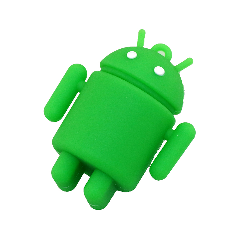 Pen Drive Cartoon Söt Android Robot Extern lagring 8 GB 16 GB 32 GB - Extern lagring - Foto 4