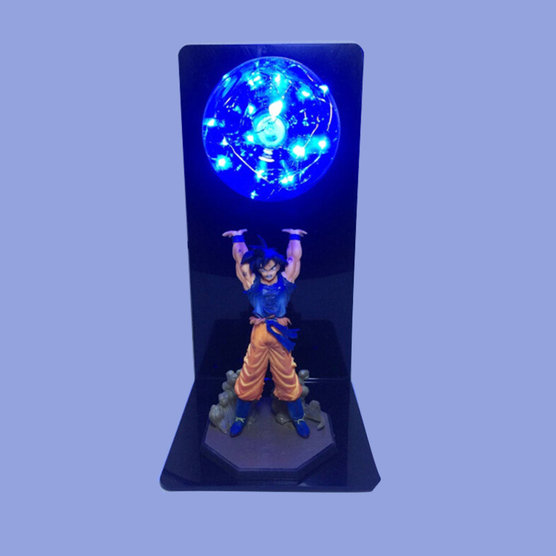 Colorful <font><b>Dragon</b></font> <font><b>Ball</b></font> Son Goku Strength Bombs Luminaria Led Night Light Red Blue Green Yellow Lighting Led <font><b>Lamp</b></font> In 110V 220V 127V image
