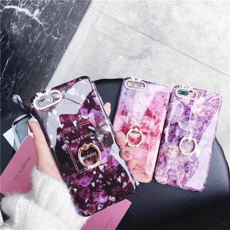 9b4f9003b45c6 Detail Feedback Questions about Diamond Marble Cases For iPhone 6 6S ...