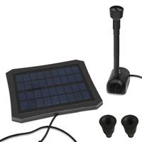RC 608 Colorful LED Solar Power Water Fountain Garden Plant Watering Kit for Fountains Waterfalls