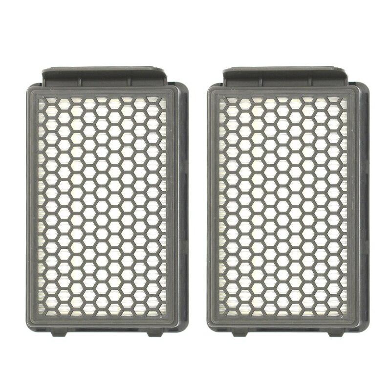 2*Filters For Rowenta RO3731,RO3731EA,RO3753,RO3753EA,RO3759,RO3759EA,RO3786,RO3786EA,RO3798,RO3798EA,RO3799,RO3799EA,SG3751