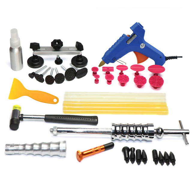 PDR Tools Kit Paintless Dent Repair Removal Car Body Tool To Remove Dents Puller Fast Shipping