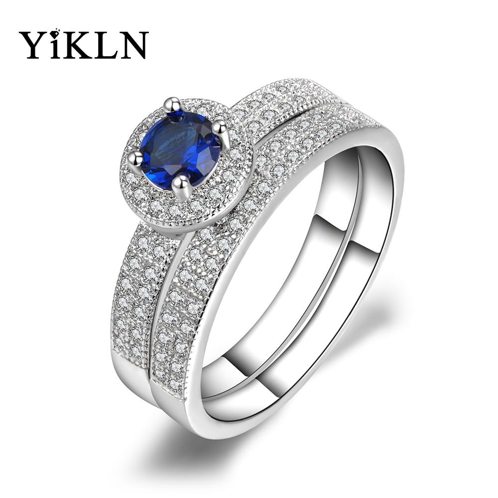Popular Blue Couple Promise Rings-Buy Cheap Blue Couple Promise ...
