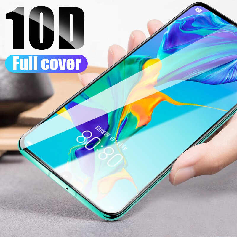 10D Tempered Glass For Huawei P30 Lite P20 Pro P20 Lite Screen Protector For Huawei Y9 2019 Y5 Y6 Prime 2018 Protective Film