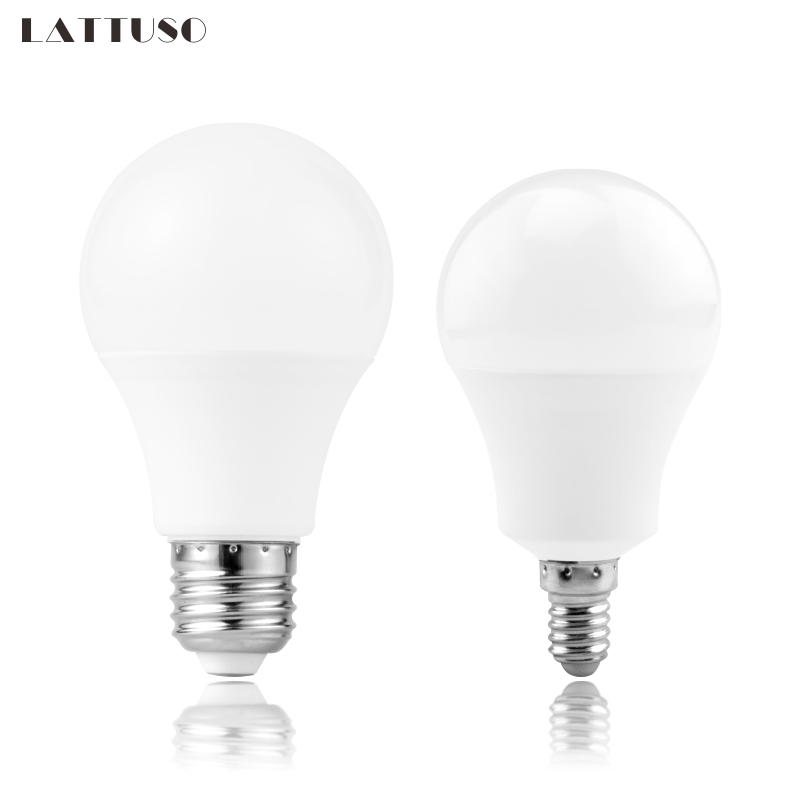 LED Bulb Lamps E27 E14 220V Light Bulb Smart IC 3W 6W 9W 12W 15W 18W 20W High Brightness Lampada LED Bombilla Spotlight