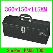 BESTIR черный ручной ящик для инструментов Размер: 36*15*11,5 см Высокое качество коробка инструмент рабочий инструмент грудь, № 05109, дешево