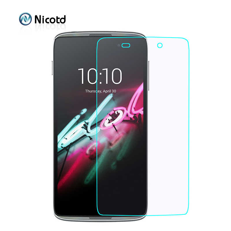 For Alcatel One Touch idol 3 4.7 Screen Protector 2.5D 9H Tempered Glass Protective Film For Onetouch Idol3 6039 6039J 6039Y
