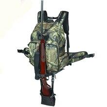 Tactical Airsoft Paintball Arma de La Caza Rifle Mochila Bolsa de Camuflaje Al Aire Libre Mochila Hunter Escopeta Integrado Funda de Pistola