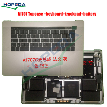 Original For Apple Macbook Pro 15'' A1707 Top Case PalmRest With Keyboard + Touchpad US / UK / French / Germany Version