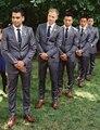 2016 nueva encargo hechos a mano hombres Wedding trajes formales trajes de etiqueta de negocios novio Blazers moda frac