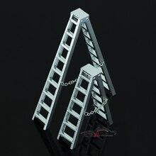 1:10 модель альпинист моделирование части SCX10 Морок ax10012 сцены украшения из алюминиевого сплава брюки-карго лестница 150 мм/100 мм стиль