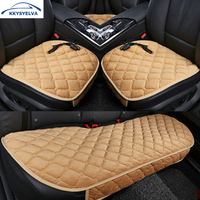 KKYSYELVA 12V Electric Heated Car Seat Cushion Winter Car Seat Pad Car Heating Seat Covers Interior