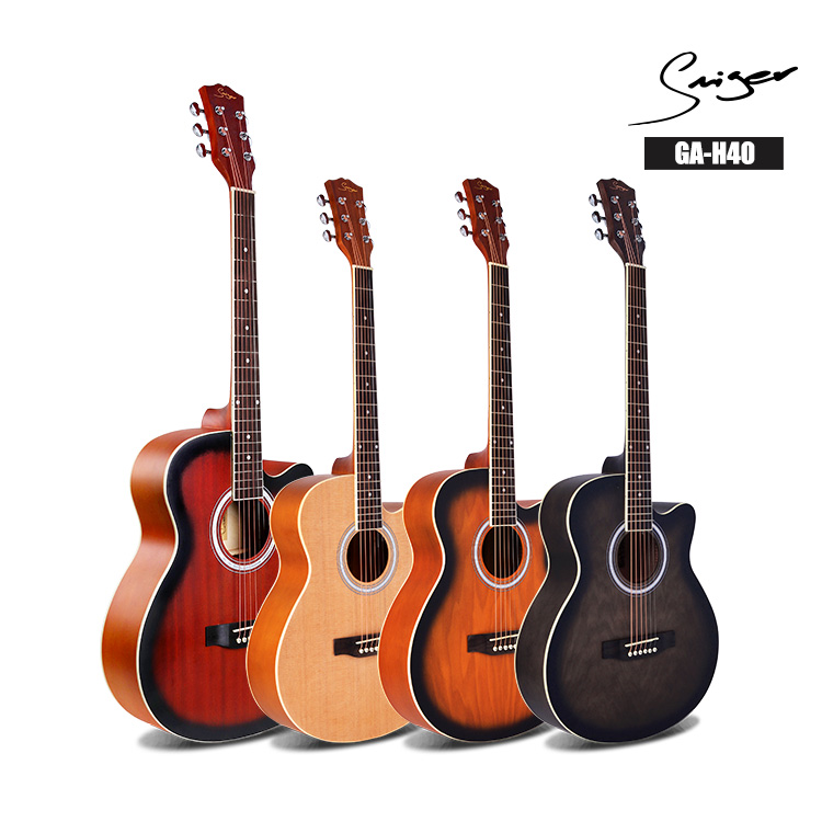 Guitar Acoustic Electric Steel-String 40 Inches A-Body Guitarra 6 Strings Folk Pop Cutaway Pickup Mandshurica Ink Spruce SapeleGuitar Acoustic Electric Steel-String 40 Inches A-Body Guitarra 6 Strings Folk Pop Cutaway Pickup Mandshurica Ink Spruce Sapele