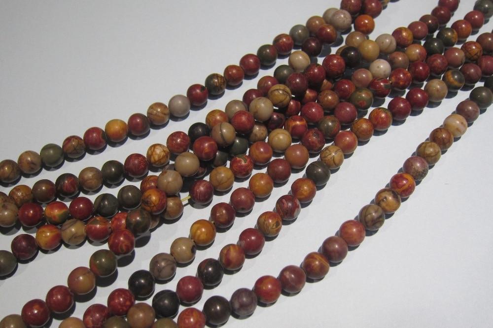 Лидер продаж свободные бусины Jaspe R Jaspis камень бусины для изготовления ювелирных изделий поставка Бесплатная доставка
