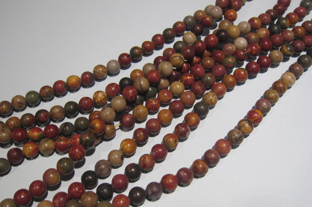 Hot Sale Loose Beads Jaspe R Jaspis Stone Stone Beads For Jewelry Making Supply Free Shipping