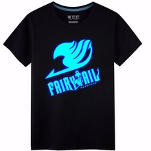 Fairy Tail Lucy Heartfilia natsu Luminous cosplay costume cotton freedom wings tshirt tee