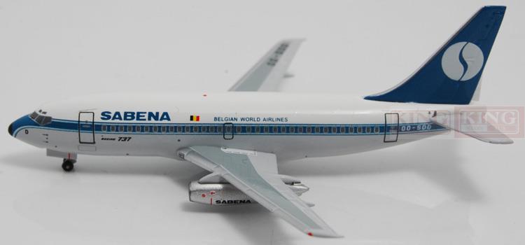 Aeroclassics Belgian aviation OO-SDD 1:400 B737-200 commercial jetliners plane model hobby