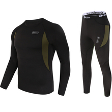 New Winter Thermal FLeece Cycling Base Layer Breathable Racing Underwear for Men Running Hiking Outd