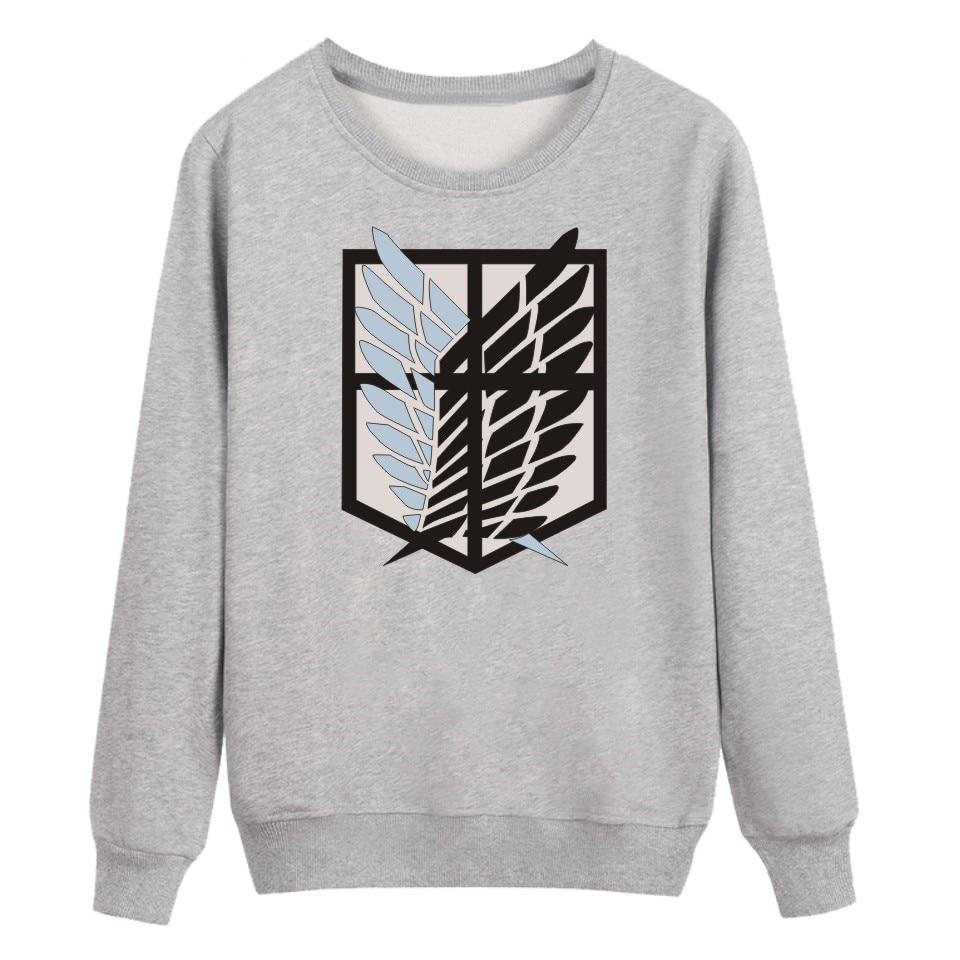 2018 Angriff Auf Titans Hoodies Männer/frauen Mode Baumwolle Harajuku Hochwertige Herren Pullover Und Sweatshirt Herbst Kleidung