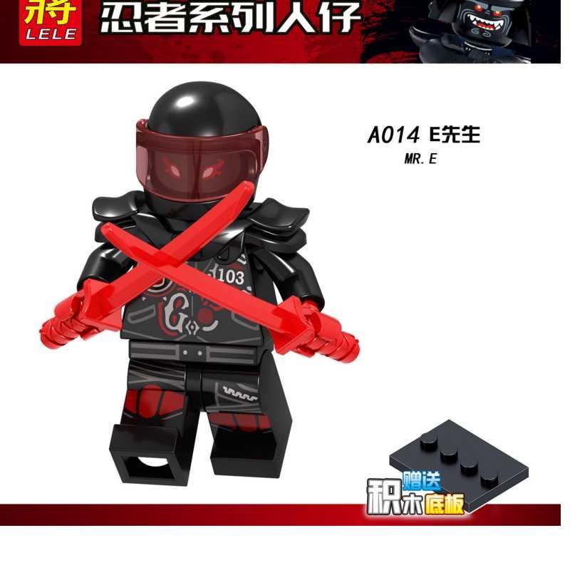Legoingly Ninjagoes Building Blocks Snakes Jay Zane Nya Lloyd Nuckal Chokun Snake Skeleton Bone Soldier Brick Toys for Children