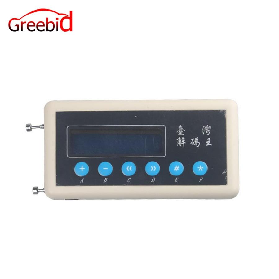 Nuovo 433 mhz Remote Control Code Scanner (copiatrice) Chiave Dell'automobile di Telecomando Senza Fili Chiave Telecomando/Scanner di Codici a