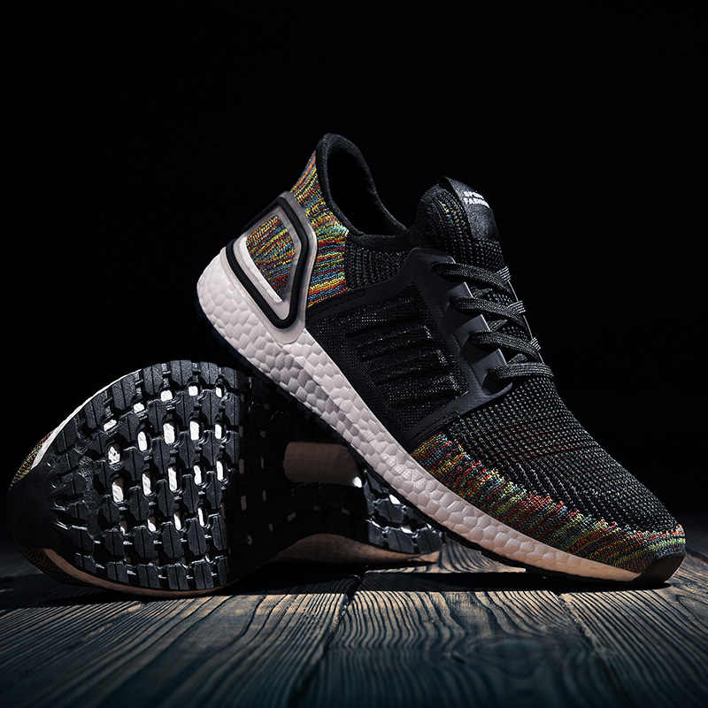 קיץ גברים נעלי ספורט חיצוני לנשימה Mens ריצה סניקרס רשת מאמני אור משקל איש של נעליים
