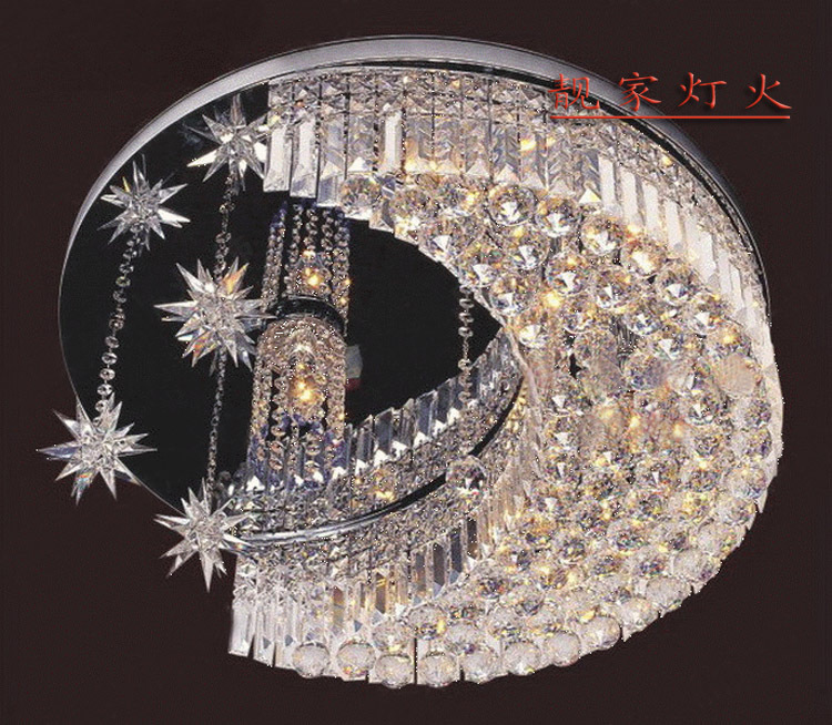 50 cm moderne beleuchtung LED kristall Deckenleuchte lampe ...