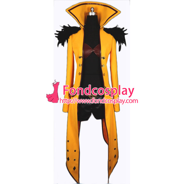 LOL The Bounty Hunter Dota Jacket Coat Game Cosplay Costume Tailor made[G855]