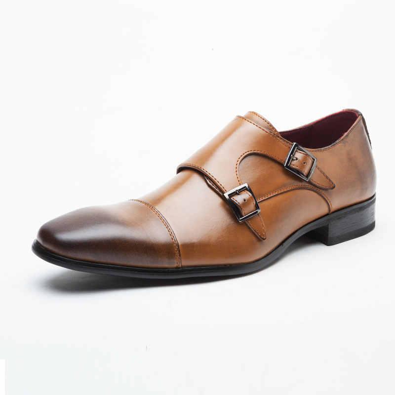 NPEZKGC/Мужская обувь Роскошная брендовая дизайнерская из натуральной кожи
