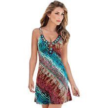 Yaz hanım Boho Plaj Elbise Kolsuz Akşam Parti Kısa Mini Elbise S-XXL Yeni Sıcak