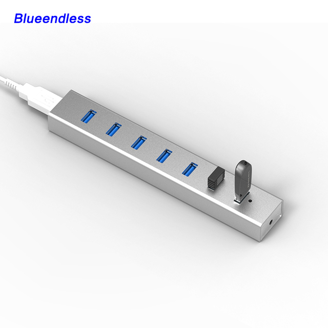 Chegam novas USB 3.0 Hub divisor Interruptor Fio USB 3.0 cabo adaptador para Teclado e Mouse USB Disk