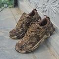Calidad de los hombres Zapatos Casuales de La Moda Zapatos Transpirables camuflaje Cordones Plana, Además de Zapatos de Los Hombres Zapatos