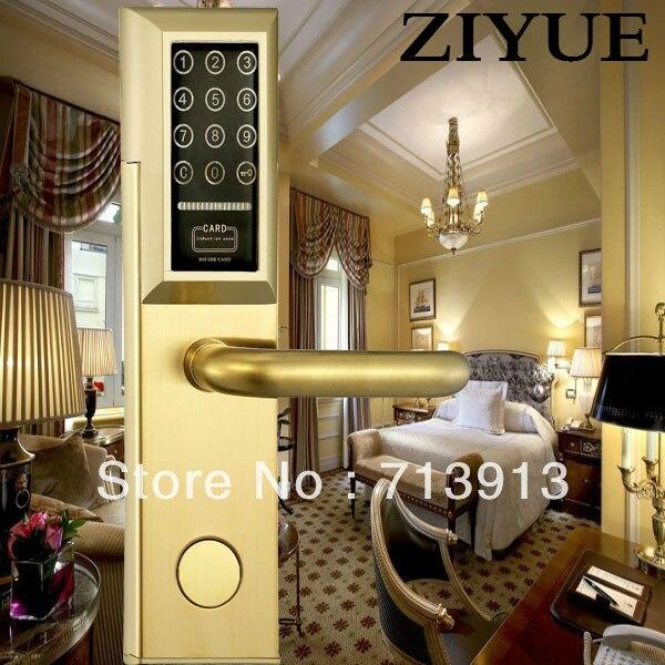 ФОТО Digital LED  Touch Screen Password Door Lock    ET958pw