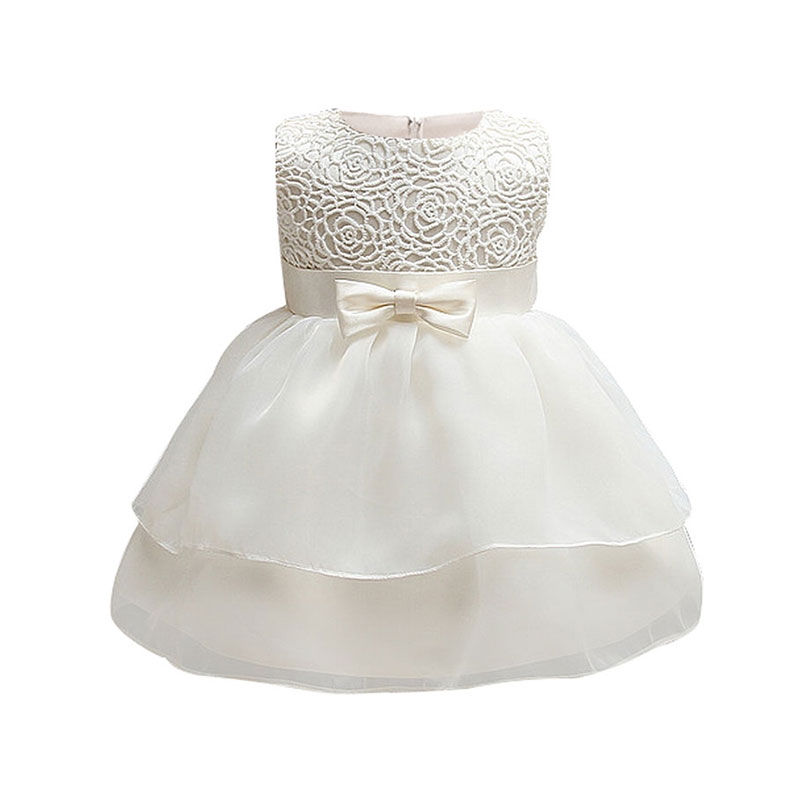 Vintage Baby White Dress Beautiful Christening Gown First