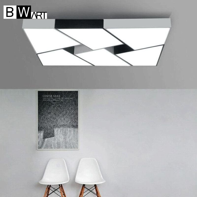 BWART Modern LED ceiling lights Simple style Smart home LED lamp Large art Creative lustre bedroom