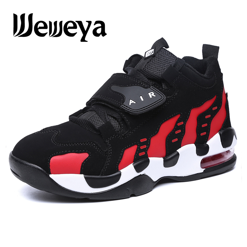 e906558d9f3 Hot Sale  Weweya Men Air Sole Basketball Shoes Women Cow Sneakers ...
