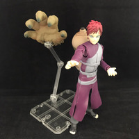 14cm Anime Cartoon Naruto Shippuden Sabaku One tailed Gaara SHF Action Figure Model Toy Doll Collection
